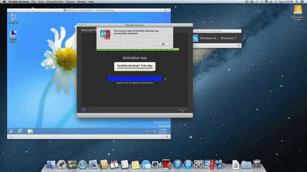 Parallels Desktop 16.1.3.49160 Crack + Full Activation Key {2021}